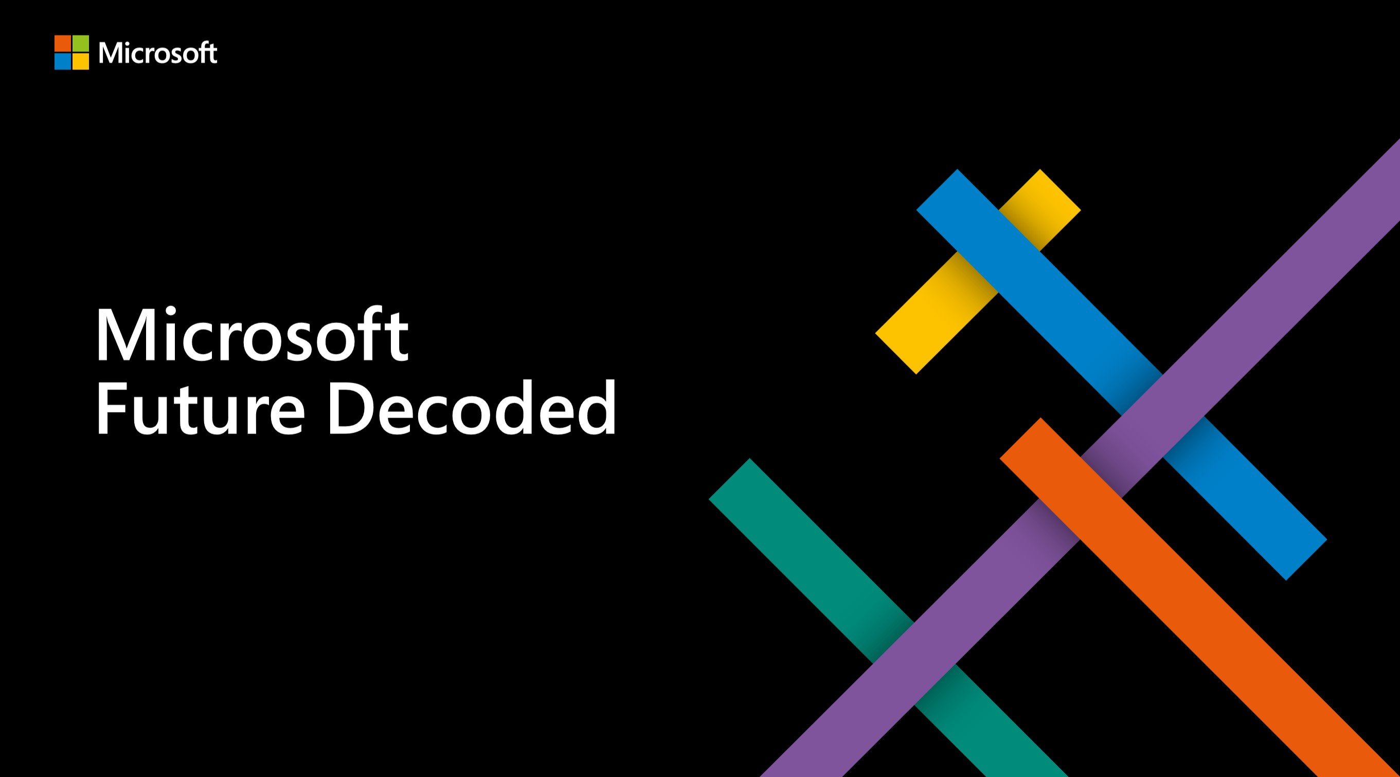 Home | Microsoft Future Decoded