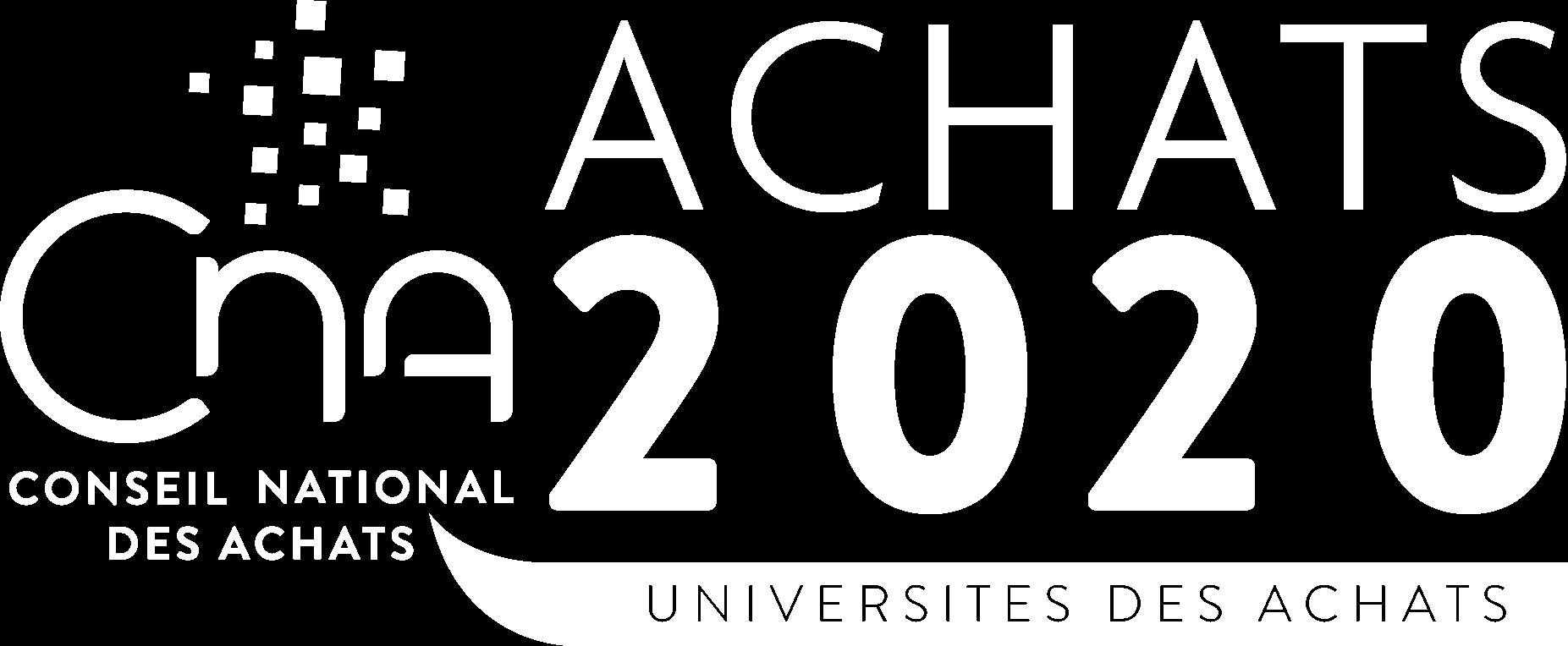 Universités des Achats 2020