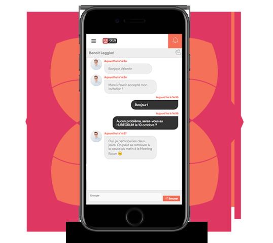 HUBFORUM Application mobile